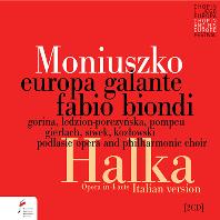 HALKA/ FABIO BIONDI [모니우스코: 오페라 <할카> | 에우로파 갈란테, 비온디]