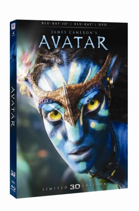 아바타 3D&2D [BD+DVD] [렌티큘러 한정판] [AVATAR]