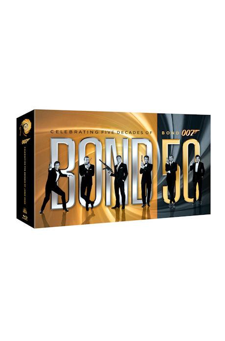 007 50주년 기념 박스세트: 한정판 [007 BOND 50] [블루레이 전용플레이어 사용]