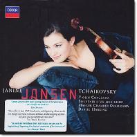 VIOLIN CONCERTO/ JANINE JANSEN/ DANIEL HARDING