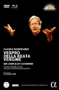 VESPRO DELLA BEATA VERGINE/ JOHN ELIOT GARDINER [BD+DVD] [몬테베르디: 성모 마리아의 저녁기도 - 존 엘리엇 가디너]