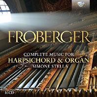 COMPLETE MUSIC FOR HARPSICHORD AND ORGAN/ SIMONE STELLA [프로베르거: 하프시코드와 오르간을 위한 작품 전집]