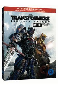 트랜스포머 5: 최후의 기사 [3D+2D+보너스 디스크] [오링케이스 한정판] [TRANSFORMERS: THE LAST KNIGHT]