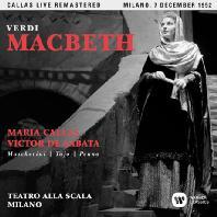 VERDI: MACBETH/ VITOR DE SABATA [마리아 칼라스: 베르디 맥베스 - 1952년 밀라노 실황]