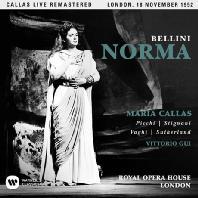 BELLINI: NORMA/ VITTORIO GUI [마리아 칼라스: 벨리니 노르마 - 1952년 런던 실황]