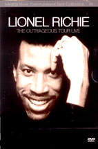 LIONEL RICHIE/ THE OUTRAGEOUS TOUR LIVE