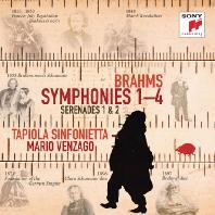 SYMPHONIES 1-4 & SERENADES 1 & 2/ MARIO VENZAGO [브람스: 교향곡 전곡, 세레나데 - 마리오 벤자고]