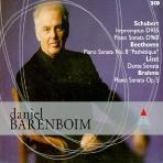 IMPROMPTUS D935, PIANO SONATA,EC/ DANIEL BARENBOIM