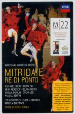 M 22: MITRIDATE RE DI PONTO/ MARC MINKOWSKI