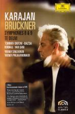 브루크너: 교향곡 8 & 9번, 테데움/ 카라얀 [<!HS>BRUCKNER<!HE> SYMPHONY NO.8 & 9, TE DEUM/ HERBERT VON KARAJAN]