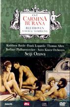 CARMINA BURANA, CHORAL SYMPHONY/ <!HS>SEIJI<!HE> OZAWA [오르프: 카르미나 부라나, 베토벤: 합창 교향곡]