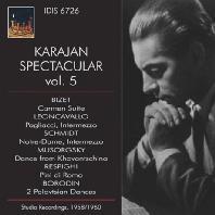 KARAJAN SPECTACULAR VOL.5: STUDIO RECORDINGS 1958/1960 [카라얀이 지휘하는 오케스트라 작품 5집]