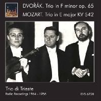 TRIOS/ TRIO DI TRIESTE [드보르작 & 모차르트: 피아노 삼중주 - 트리오 디 트리에스테]