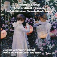 CLARINET IN ENGLISH: WORKS FOR CLARINET & PIANO/ GIANLUCA CAMPAGNOLO [클라리넷 인 잉글리시: 20세기 작품집 - 지안루카 캄파놀로]