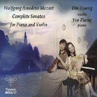 COMPLETE SONATAS FOR PIANO AND VIOLIN/ BIN HUANG, YIN ZHENG [모차르트: 피아노와 바이올린을 위한 소나타 전곡집 - 빈 황 & 잉 젱]