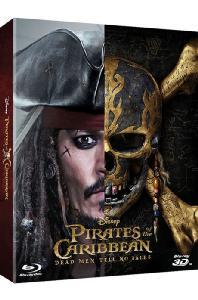 캐리비안의 해적 5: 죽은 자는 말이 없다 3D+2D [스틸북 한정판] [PIRATES OF THE CARIBBEAN: DEAD MEN TELL NO TALES]