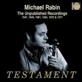 THE UNPUBLISHED RECORDINGS 1947-1971 [마이클 래빈: 미공개녹음]