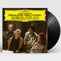 TRIPLE CONCERTO/ MARK ZELTSER, YO-YO MA, ANNE-SOPHIE MUTTER, HERBERT VON KARAJAN [베토벤: 삼중 협주곡 - 젤처, 요요마, 무터, 카라얀] [180G LP]
