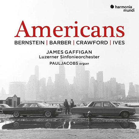 AMERICANS - BERNSTEIN/ IVES/ CRAWFORD [번스타인, 아이브즈, 크로포드: 아메리칸즈- 교향곡,서곡들]