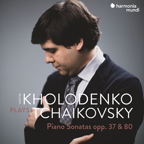 PIANO SONATAS OPP.37 & 80/ VADYM KHOLODENKO [차이코프스키: 피아노 소나타 OP.37 & OP.80 - 홀로덴코]
