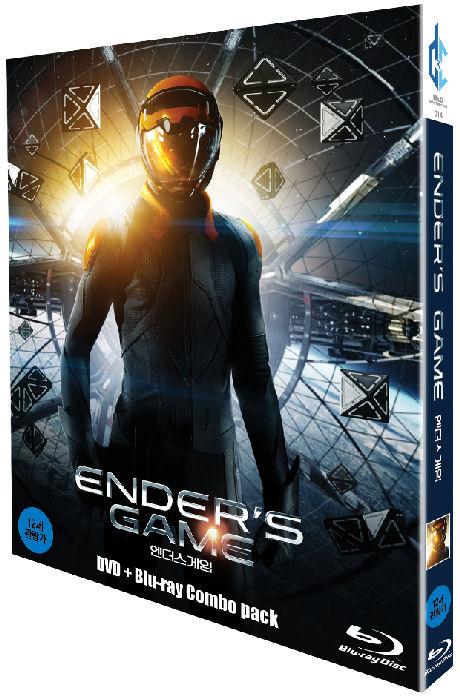 엔더스 게임: BD+DVD [콤보팩 한정판] [ENDER`S GAME]
