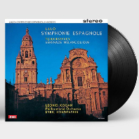 SYMPHONY ESPAGNOLE & SERENADE MELANCOLIQUE/ LEONID KOGAN, KYRIL KONDRASHIN [LP] [랄로 & 차이코프스키: 스페인교향곡 & 우울한 세레나데]