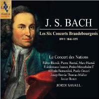 LES SIX CONCERTS BRANDEBOURGEOIS BWV 1046-1051/ LE CONCERT DES NATIONS, JORDI SAVALL [SACD HYBRID] [바흐: 브란덴부르크 협주곡 - 르 콩세르 나시옹, 조르디 사발]