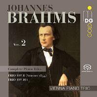 COMPLETE PIANO TRIOS VOL.2/ VIENNA PIANO TRIO [SACD HYBRID] [브람스: 피아노 3중주 전곡 2집 - 빈 피아노 트리오]