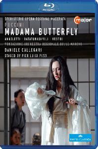 MADAMA BUTTERFLY/ DANIELE CALLEGARI [푸치니: 나비부인] [블루레이 전용플레이어 사용]