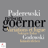 파데레프스키: 자작 주제에 의한 변주곡과 푸가 op.23, 고도프스키: 슈트라우스 주제에 의한 교향적 변용