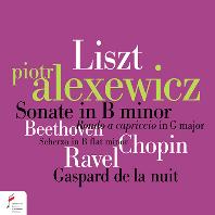 리스트: 피아노 소나타 B단조, 베토벤: 론도 카프리치오 G장조 op.129, 쇼팽: 스케르초 B플랫단조 op.31 외