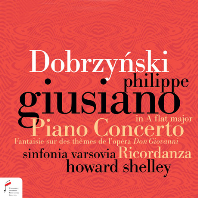 PIANO CONCERTO/ PHILIPPE GIUSIANO, HOWARD SHELLEY [도브르친스키: 피아노 협주곡 - 주시아노, 하워드 셸리]