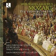 THE VIENNA CONCERT 23 MARCH 1783/ LEONARDO GARCIA ALARCON [모차르트: 비엔나 콘서트 1783년 3월 23일]