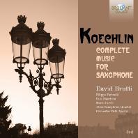 COMPLETE MUSIC FOR SAXOPHONE/ DAVID BRUTTI