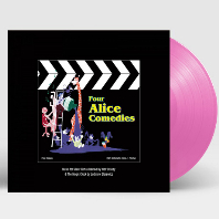 FOUR ALICE COMEDIES [포 앨리스 코미디스] [180G CLEAR PINK LP]