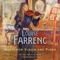 MUSIC FOR VIOLIN AND PIANO/ LINDA DI CARLO [파랑크: 바이올린과 피아노를 위한 음악 - 오를란도, 카를로]