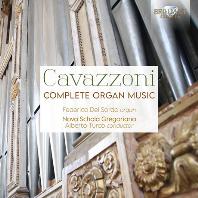 COMPLETE ORGAN MUSIC/ FEDERICO DEL SORDO, ALBERTO TURCO [카바초니: 오르간 작품 전곡]