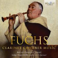 CLARINET CHAMBER MUSIC/ ITALIAN CLASSICAL CONSORT, LUIGI MAGISTRELLI [푹스: 클라리넷 실내악 작품 - 이탈리안 클래시컬 콘소트]