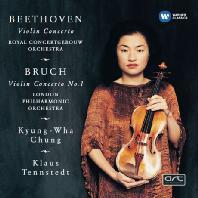 VIOLIN CONCERTOS/ 정경화, KLAUS TENNSTEDT [정경화: 베토벤 & 브루흐 바이올린 협주곡]