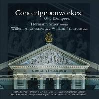 ORCHESTRAL WORKS/ OTTO KLEMPERER [모차르트: 교향곡 25번, 말러: 젊은 나그네의 노래, 파야: 스페인 정원에서의 밤, 바르톡: 비올라와 오케스트라를 위한 협주곡 - 클렘페러]