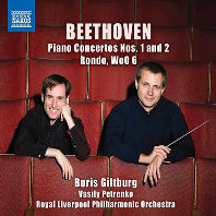 베토벤 : '피아노 협주곡 : 1 & 2번', '론도'(WOo. 6)