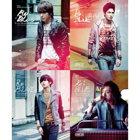 RE:BLUE [DVD+화보+엽서] [한정반] 정용화 ver