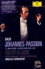 JOHANNES-PASSION/ <!HS>NIKOLAUS<!HE> HARNONCOURT [바흐: 요한 수난곡]