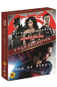 배트맨 대 슈퍼맨: 저스티스의 시작 & 맨 오브 스틸 [히어로 더블팩] [한정판] [BAT MAN VS SUPERMAN: DAWN OF JUSTICE & MAN OF STEEL]