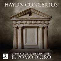 CONCERTOS/ RICCARDO MINASI, MAXIM EMELYANYCHEV, IL POMO D'ORO [하이든: 협주곡집 - 바이올린, 건반, 호른]