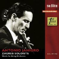 WORKS FOR STRING ORCHESTRA/ ZAGREB SOLOISTS [야니그로 & 자그레브 솔로이스츠: 현악을 위한 작품]
