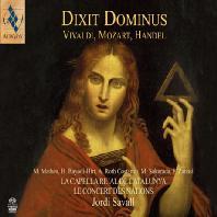 DIXIT DOMINUS/ JORDI SAVALL [SACD HYBRID] [비발디, 모차르트, 헨델: 주께서 말하기를 - 조르디 사발]