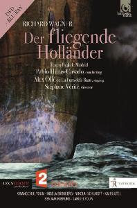 DER FLIEGENDE HOLLANDER/ PABLO HERAS-CASADO [바그너: 방황하는 네덜란드인   파블로 에라스-카사도] [DVD+BD]