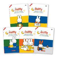 미피: 색깔, 숫자, 모양 놀이 유아영어 1집 10종세트 [5<!HS>DVD<!HE>+5CD+영한대본] [MIFFY]
