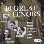 VARIOUS - 10 GREAT TENORS